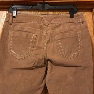 Maurice's skinny fit tan stretch cords Large VGUC